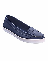 Simply Be Loafers E Fit