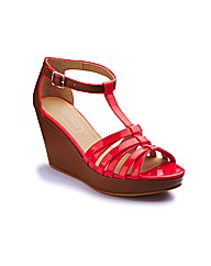 Anna Scholz Wedge Sandals E Fit