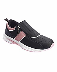 Simply Be Zip Trainers EEE Fit