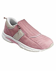 Sole Diva Zip Trainers EEE Fit