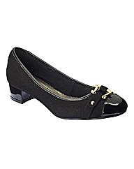 Simply Be Block Heel Sandals EEE Fit