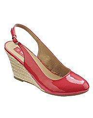 Simply Be Slingback Court Shoes E Fit