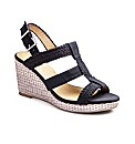Simply Be T-Bar Wedge Sandals E Fit