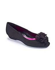 And Abigail Flower Open Toe Pumps EEE