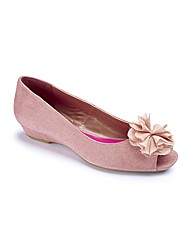 And Abigail Flower Open Toe Pumps E Fit