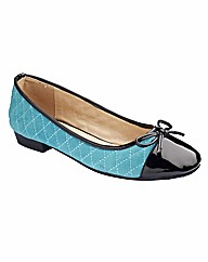 Natures Own Quilted Ballerina Pumps E