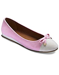 Simply Be Ballerina Pumps EEEEE Fit