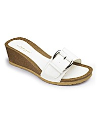 Buckle Wedge Footbed EEE Fit