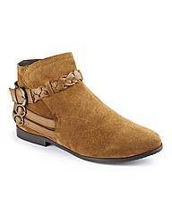 Joe Browns Suede strappy Boot EEE Fit