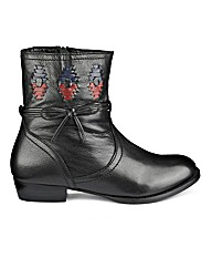 Joe Browns Interwoven Ankle Boot E Fit