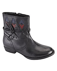 Joe Browns Interwoven Ankle Boot EEE Fit