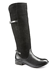 Legroom Over Knee Boot Super Curvy EEE