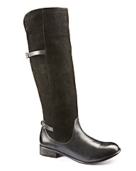 Legroom Over Knee Boot Curvy Width EEE