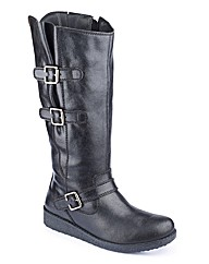 Sole Diva Double buckle Hi Leg Boot D