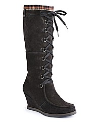 Joe Browns Hi Leg Wedge Boot EEE Fit