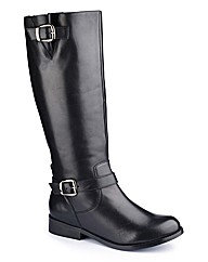 Legroom Buckle Boot Extra Curvy Plus E