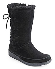 Sole Diva Lace Up Back Boot EEE Fit