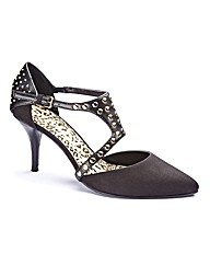 Grazia Studded Court Shoe E Fit