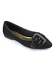Heavenly Soles Buckle Pump E Fit