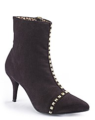 Jeffrey and Paula Studded Ankle Boot E