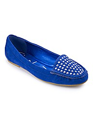 Simply Be Diamante Loafer E Fit