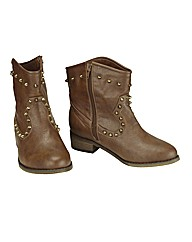 Joe Browns Studded Boot E Fit