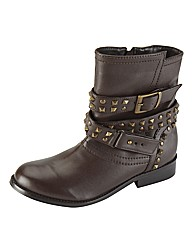 Joe Browns Stud Ankle Boot E Fit