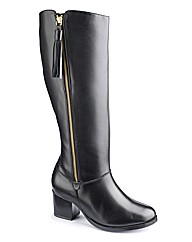 Jeffrey and Paula Hi Leg Zip Boot E Fit