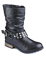 Joe Browns Studded Ankle Boot EEE Fit