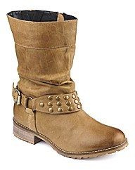 Joe Browns Studded Slouchy Ankle Boot E