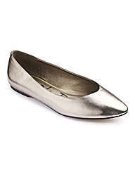 Simply Be Pointy Ballerinas E Fit