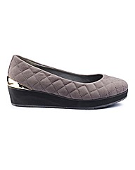 Simply Be Quilted Platform EEE Fit