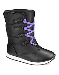 Simply Be Winter Boot EEE Fit