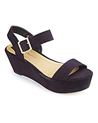 Dolcis Platform Sandals E Fit