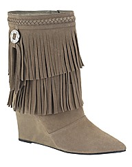 Claire Richards Fringe Boot E Fit