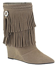Claire Richards Fringe Boot EEE Fit