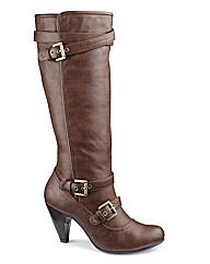 Heavenly Soles Buckle Hi Leg Boot E Fit