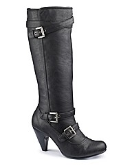 Sole Diva Buckle Hi Leg Boot EEE