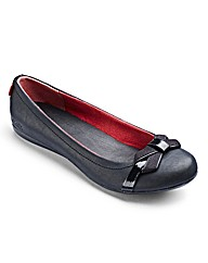 Kickers Bow Ballerinas D Fit