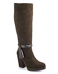 Anna Scholz Hi Leg Platform Boots EEE