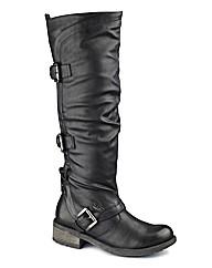 Dolcis Hi Leg Buckle Boot EEE Fit