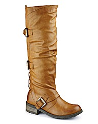 Dolcis Hi Leg Buckle Boot E Fit