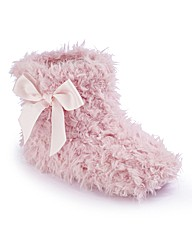 Simply Be Fluffy Bootie Slippers