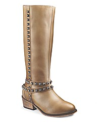 Anna Scholz Studded Boot E Fit