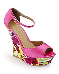 Wedge Shoes D Fit