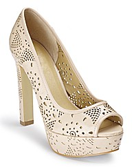 Cut Out Platform Shoes D Fit