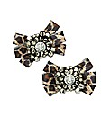 A List Leopard Shoe Clip