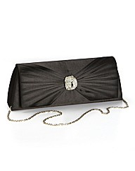 Simply Be Diamante Trim Clutch Bag