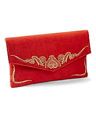 Simply Be Embroidered Clutch Bag