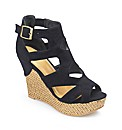 Catwalk Strappy Wedge E Fit